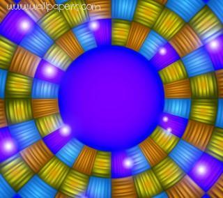 Bright mosaic