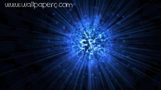 Digital art blue explosion ,wide,wallpapers,images,pictute,photos