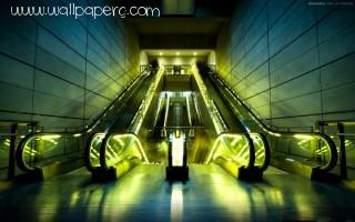 Escalators ,wide,wallpapers,images,pictute,photos