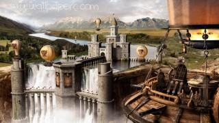 Fantasy castle ,wide,wallpapers,images,pictute,photos