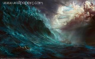 Fantasy wave ,wide,wallpapers,images,pictute,photos