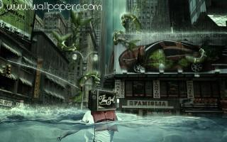Flood ,wide,wallpapers,images,pictute,photos