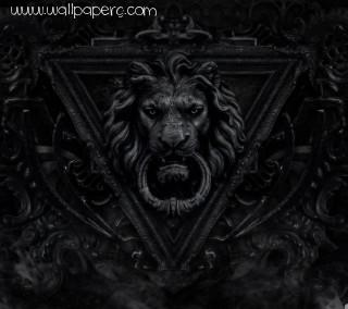 Gothic lion ,wide,wallpapers,images,pictute,photos