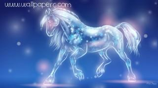 Horse of light