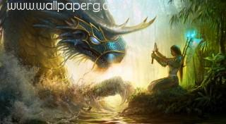 Ancient water dragon ,wallpapers,images,