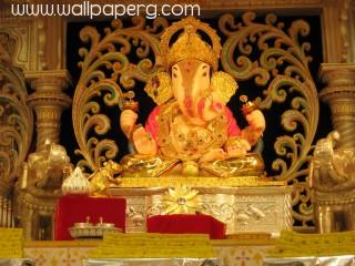Lovely ganpati wallpaper