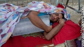 How to get to sleep funny jugaad ,wide,wallpapers,images,pictute,photos