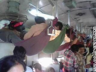 Indian rail travel jugaad