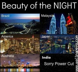 Night view of world cities
