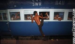 Train travel india funny