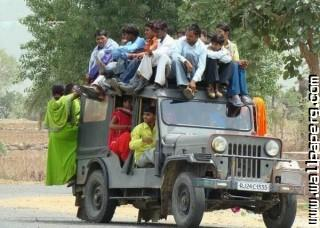 Transport of indian villa