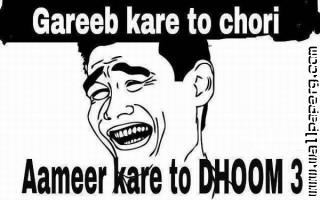Dhoom3 funny jokes