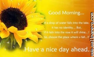 Have a nice day good thoughts