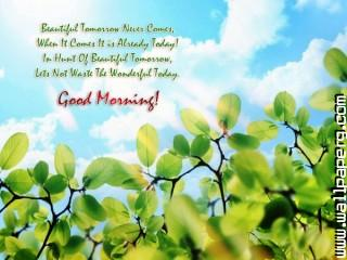 New morning quotes wallpaper 600x450