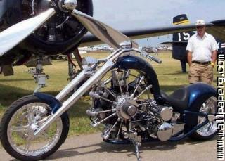Best bike with 14 cylinder radial engine