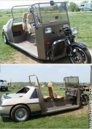 Bike car custom bike cool