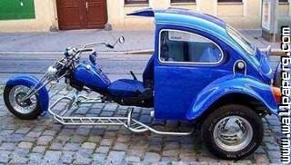 Bike with car funny engineering ,wide,wallpapers,images,pictute,photos