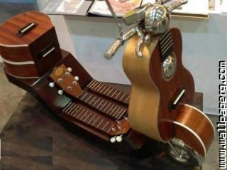 Cool bike guitar bike