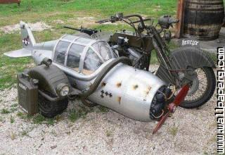 Motorcycle with sidecar f