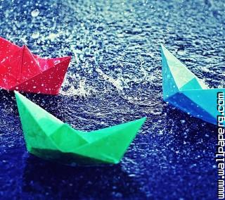 Boats in rain ,wide,wallpapers,images,pictute,photos