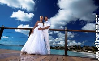 bridal couple in love  ,wide,wallpapers,images,pictute,photos