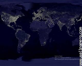 Earth at the night 1280x1024 ,wide,wallpapers,images,pictute,photos