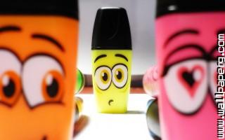 Funny pens smiley awesome