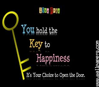 Happiness key