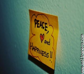 Peace love happiness ,wide,wallpapers,images,pictute,photos