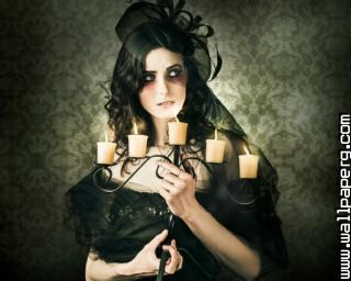 Goth girl ,wide,wallpapers,images,pictute,photos