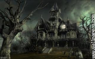 Gothic halloween haunted