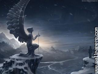 Gothic winter ,wide,wallpapers,images,pictute,photos