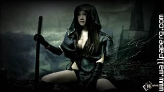 Gothic hunter ,wide,wallpapers,images,pictute,photos