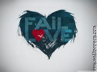 Fail love wallpaper