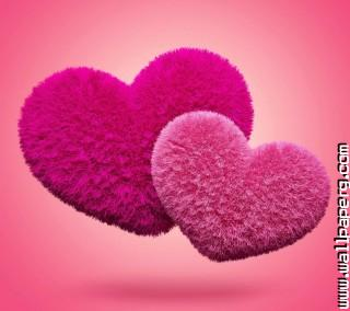 Fluffy hearts(2) ,wide,wallpapers,images,pictute,photos