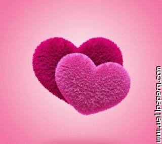 Fluffy hearts ,wide,wallpapers,images,pictute,photos