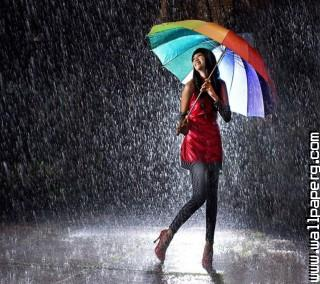Girl in rain ,wide,wallpapers,images,pictute,photos