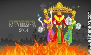 Happy dussehra wallpapers