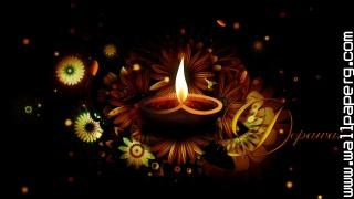 Diwali diya wallpaper