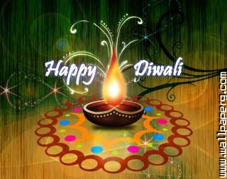 Diwali art by finewallpaper