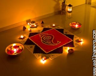 The rangoli of lights