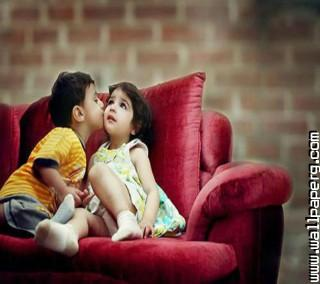 Download Love Kiss Hd Wall Cute Baby Profile Pics Mobile Version