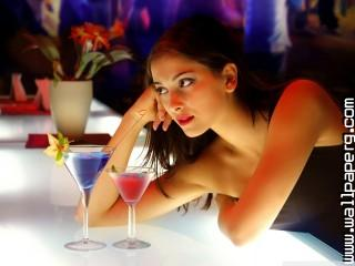 Girl and cocktails wallpaper ,wide,wallpapers,images,pictute,photos