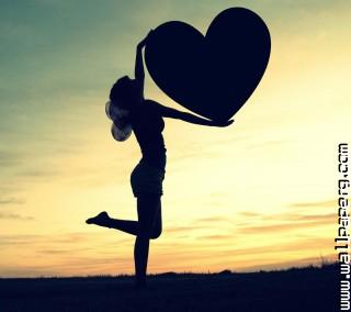 A girl love you like her heart ,wide,wallpapers,images,pictute,photos