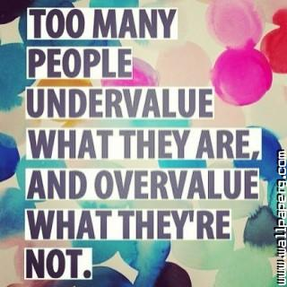People value motivational