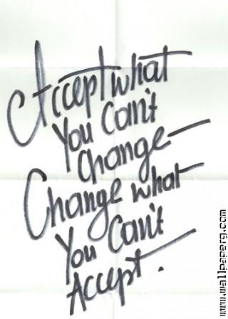 What you can change