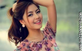 Asian smile ,wide,wallpapers,images,pictute,photos