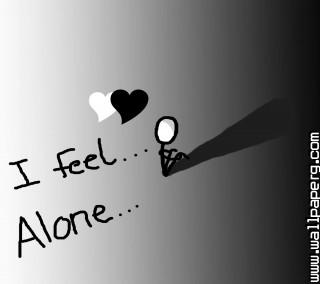 I feel alone ,wide,wallpapers,images,pictute,photos