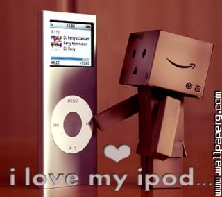 I love my ipod ,wide,wallpapers,images,pictute,photos