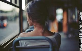 Girl bus